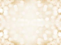 Предпосылка золота blured конспектом Стоковое Изображение RF