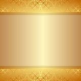 предпосылка золотистая Стоковое Фото