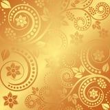 предпосылка золотистая Стоковые Фотографии RF