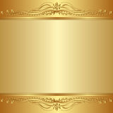 предпосылка золотистая Стоковые Фото