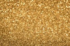 предпосылка золотистая Стоковая Фотография RF