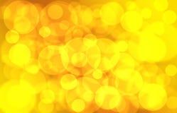 Предпосылка, золото осени Стоковая Фотография