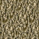 Предпосылка золотых листьев иллюстрация вектора