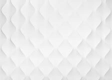 Предпосылка диаманта абстрактная белая Стоковая Фотография