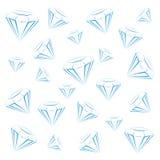 Предпосылка диаманта яркая Иллюстрация вектора