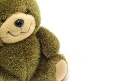 Предпосылка игрушки медведя Стоковые Фото