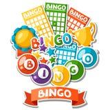 Предпосылка игры Bingo или лотереи Стоковое Изображение RF