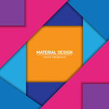 Предпосылка дизайна вектора материальная Стоковое Изображение RF