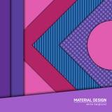 Предпосылка дизайна вектора материальная Стоковые Изображения RF