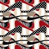 Предпосылка дизайна заплатки безшовной striped картиной иллюстрация штока