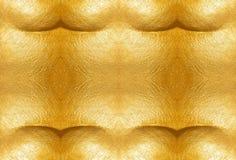 предпосылка изгибает текстуру макроса золота рамки старую Стоковое Фото