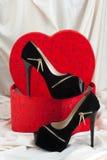 предпосылка изолированная над женщиной ботинок белой Стоковое фото RF