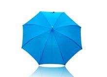предпосылка изолировала белизну зонтика Стоковые Изображения