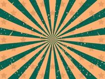 предпосылка излучает звезды Тип Grunge вектор Стоковые Фото