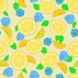 Предпосылка лимонада Стоковое Изображение