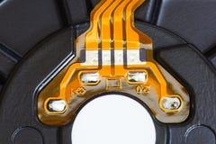 Предпосылка интегральной схемаы Стоковое фото RF