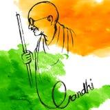 Предпосылка Индии для Ганди Jayanti бесплатная иллюстрация