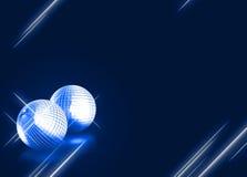 Предпосылка диско Mirrorball Стоковые Изображения