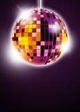 Предпосылка диско Mirrorball Стоковая Фотография RF