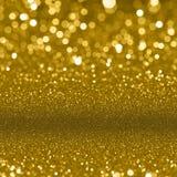 Предпосылка искр золота блестящая Стоковое Изображение RF