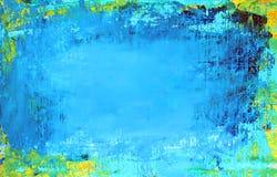 Предпосылка искусства абстрактная голубая бесплатная иллюстрация