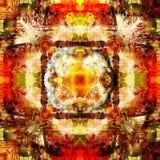 Предпосылка искусства абстрактная красочная Стоковое Изображение