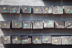 Предпосылка искусства деревянная Стоковое фото RF