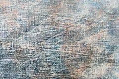 Предпосылка искусства покрашенная рукой абстрактная голубая Стоковые Изображения RF
