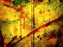 Предпосылка искусства текстурированная конспектом Стоковая Фотография