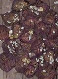 Предпосылка листовых золот осени Стоковые Фото