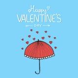 Предпосылка литерности дня валентинок винтажная Стоковая Фотография RF