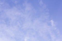 предпосылка и текстура неба Стоковая Фотография RF