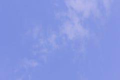 предпосылка и текстура неба Стоковая Фотография