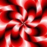 Предпосылка иллюзии движения водоворота дизайна красочная Стоковое Фото