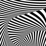 Предпосылка иллюзии движения дизайна monochrome бесплатная иллюстрация