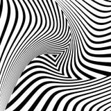 Предпосылка иллюзии движения треугольника дизайна иллюстрация штока
