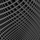 Предпосылка иллюзии решетки дизайна monochrome Стоковые Изображения