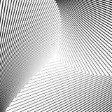 Предпосылка иллюзии треугольника дизайна monochrome иллюстрация штока