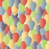 Предпосылка иллюстрации вектора с днем рождения Стоковая Фотография RF