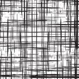 Предпосылка иллюстрации конспекта решетки Grunge monochrome Стоковые Фотографии RF