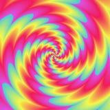 Предпосылка иллюстрации конспекта Psychadelic Стоковые Фото