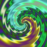 Предпосылка иллюстрации конспекта Psychadelic Стоковые Фотографии RF