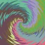 Предпосылка иллюстрации конспекта Psychadelic Стоковые Изображения RF