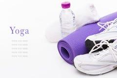 Предпосылка йоги Стоковая Фотография