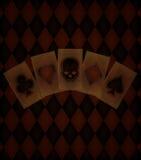 Предпосылка казино старая Стоковое Фото