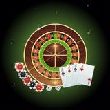 Предпосылка казино Стоковая Фотография