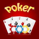 Предпосылка казино Стоковая Фотография RF