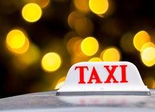 предпосылка как может подписать пользу таксомотора Стоковое фото RF