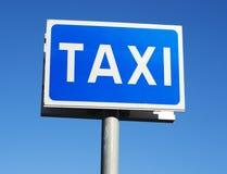 предпосылка как может подписать пользу таксомотора Стоковые Фотографии RF