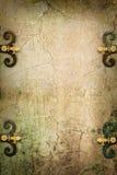 Предпосылка каменной готической фантазии искусства средневековая Стоковые Фото